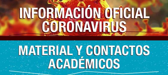 Información Oficial CORONAVIRUS