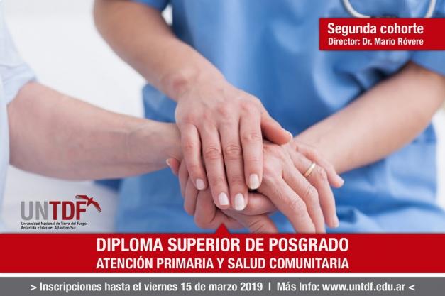 Últimos días de inscripción para el Diploma Superior de Posgrado en atención primaria de la salud y salud comunitaria