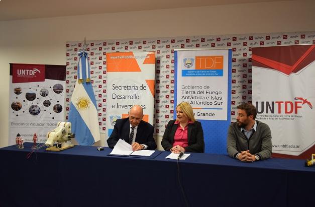 La Universidad y el Gobierno provincial impulsan proyectos tecnológicos