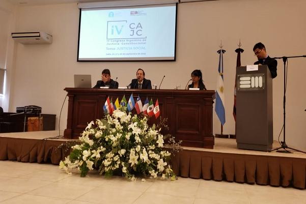 Docente de la UNTDF disertó en el Cuarto Congreso Argentino de la AAJC