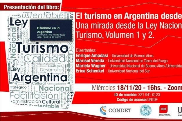 Juntoa la Academia Argentina de Turismo y el CONDET