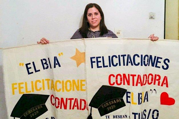 La UNTDF tiene su primera graduada en situación de cuarentena