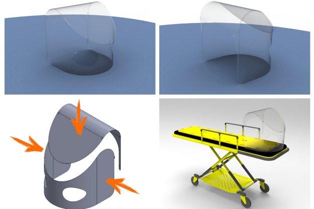 Investigadores de la UNTDF diseñaron un Módulo Protector para Intubación