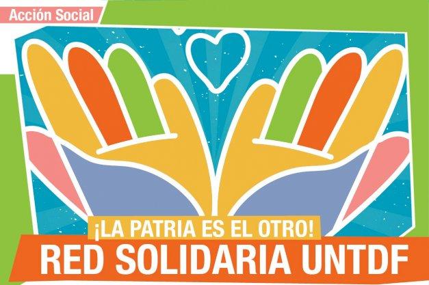 Crean la Red Solidaria UNTDF para ayudar a la comunidad universitaria ante la actual emergencia sanitaria