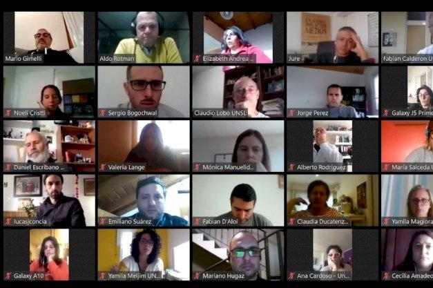 La UNTDF participó de las reuniones convocadas por la Comisión de Comunicación y Medios del CIN.