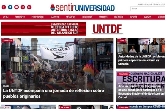 """La UNTDF lanza """"sentirUNIVERSIDAD"""", su nuevo espacio de comunicación para la comunidad"""