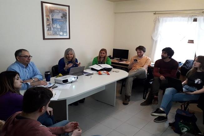 Reunión entre Secretaría Académica y organizaciones de Estudiantes