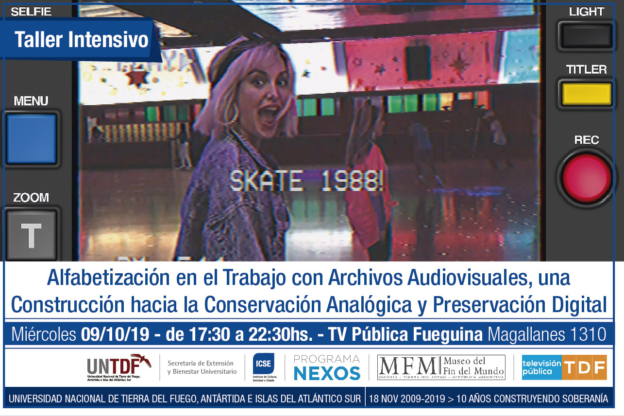 taller intensivo sobre conservación analógica y preservación digital