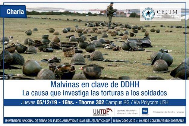 Charla Abierta sobre la causa que investiga las torturas a los soldados de Malvinas