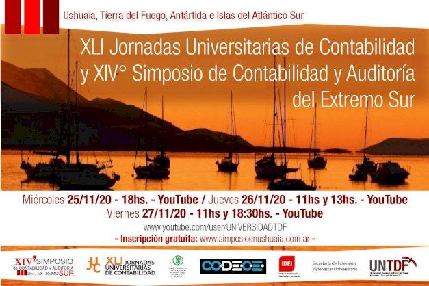 XLI Jornadas Universitarias de Contabilidad y XIV° Simposio de Contabilidad y Auditoría del Extremo Sur