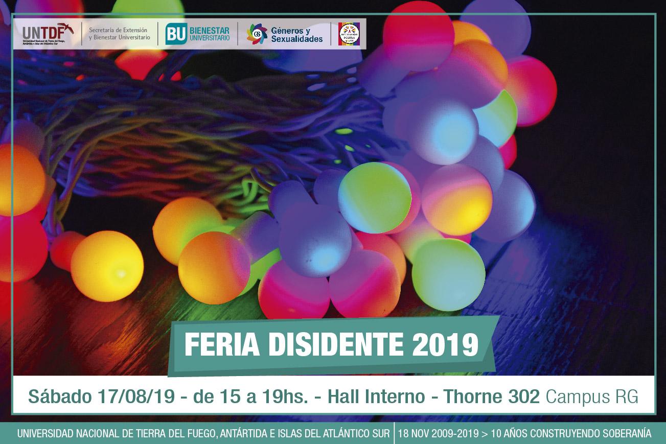 La Universidad realizará la primera Feria Disidente