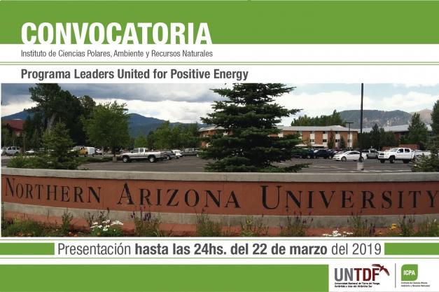 La UNTDF abre la convocatoria al Programa Leaders United for Positive Energy