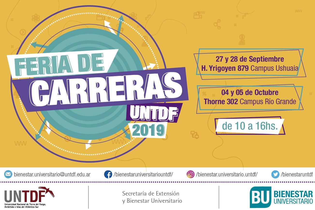 27 y 28 de septiembre en Ushuaia y el 4 y 5 de octubre en Río Grande