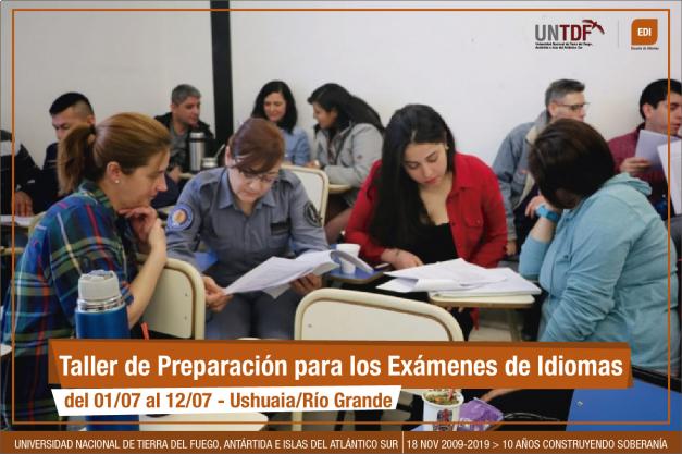 La EDI dicta talleres de preparación para los exámenes de idiomas